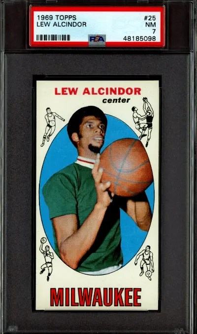 Most Expensive 1960s Basketball Cards