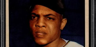 Willie Mays baseball card ebay
