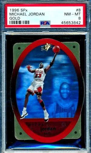 1996 Michael Jordan SPx