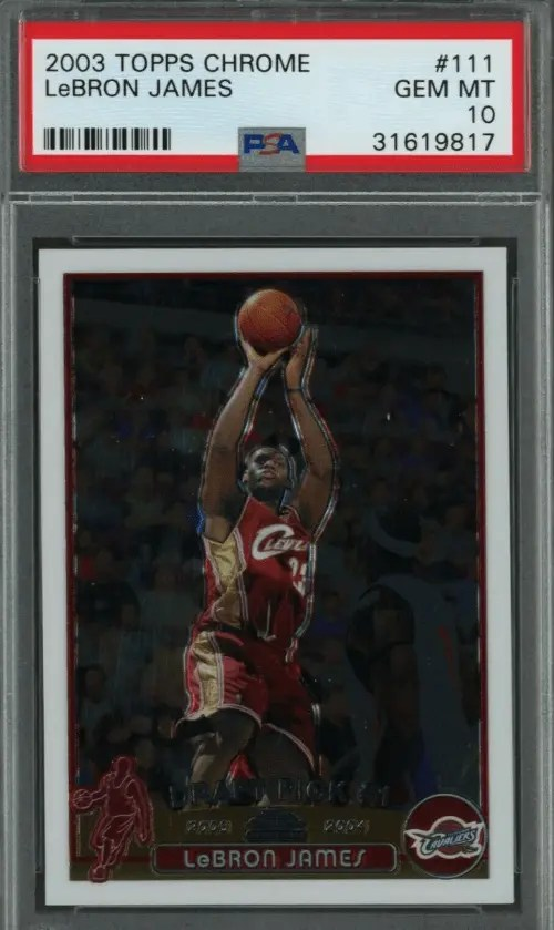 Gold Card Auctions Hot 10