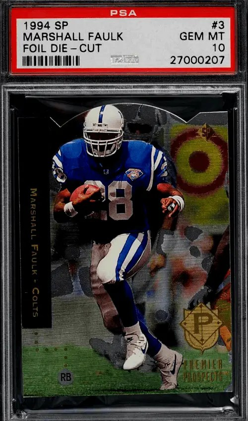 Marshall Faulk Rookie Card