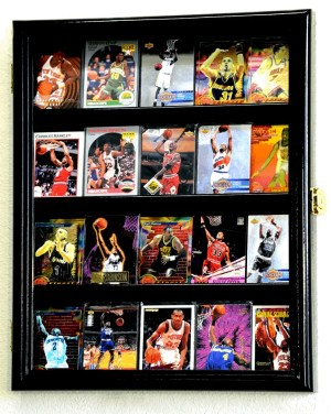 20 Sports Cards Collectible Card Display
