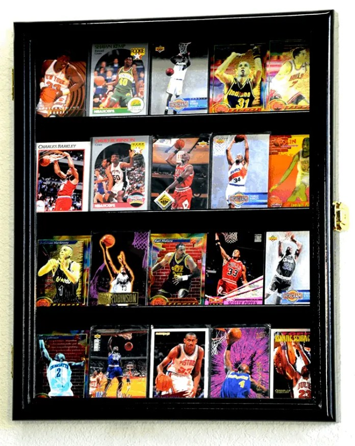 buy Baseball Card Display Cases on amazon