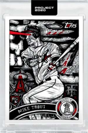 best mike trout baseball cards