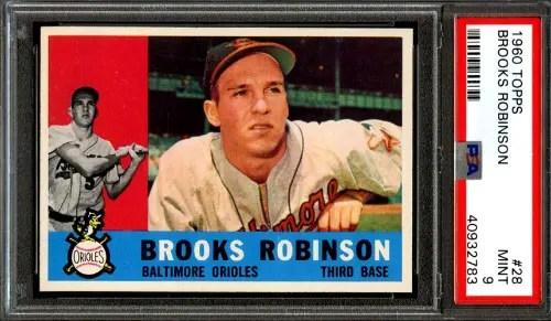 brooks robinson baseball cards
