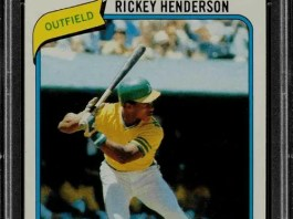 most expensive 1980s baseball rookie cards