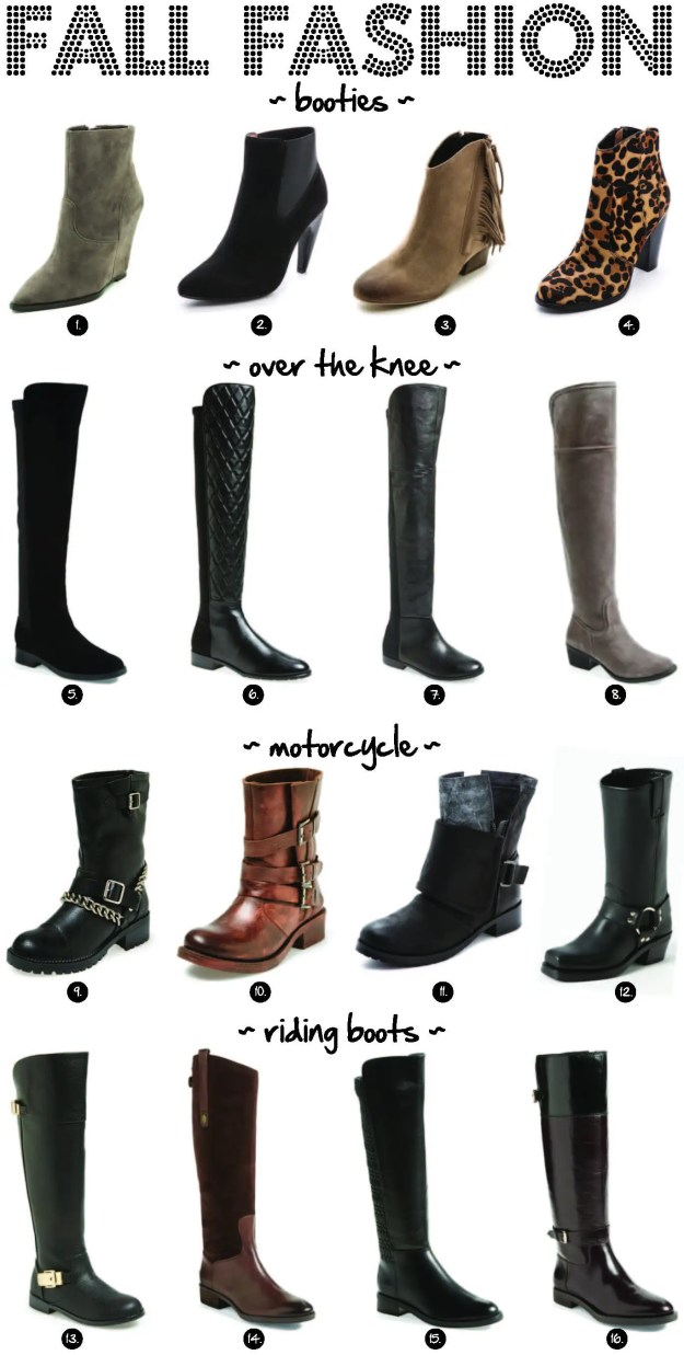 fall fashioh boots