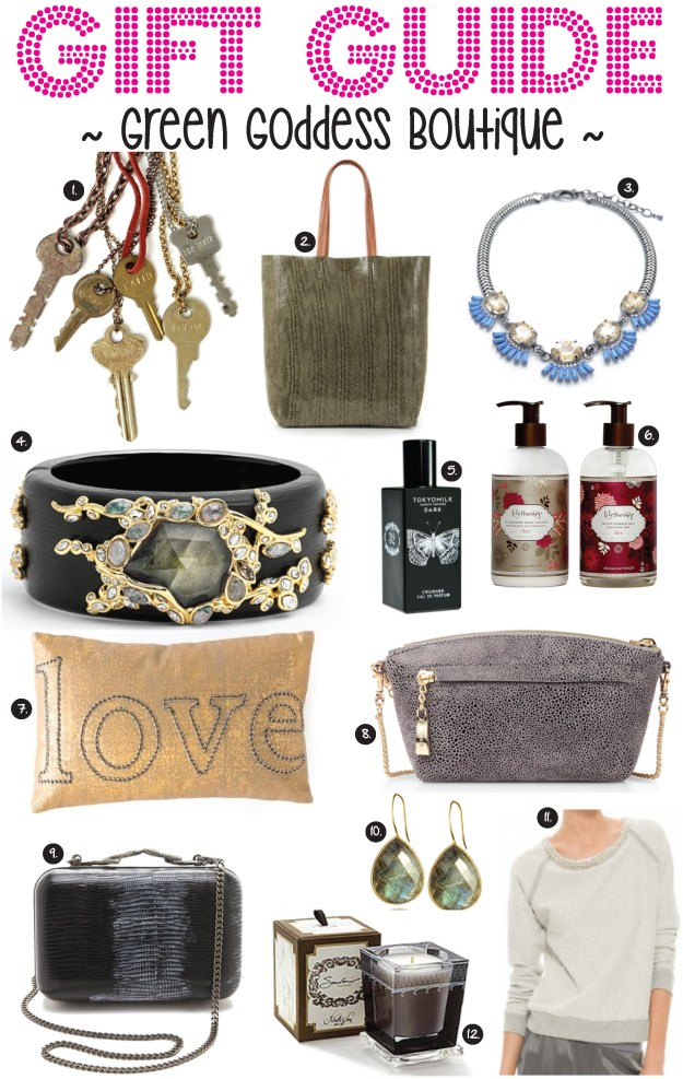 green goddess boutique gift guide