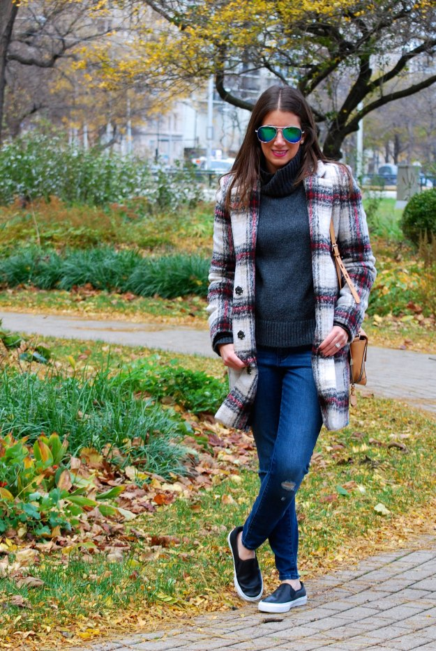 plaid coat 12