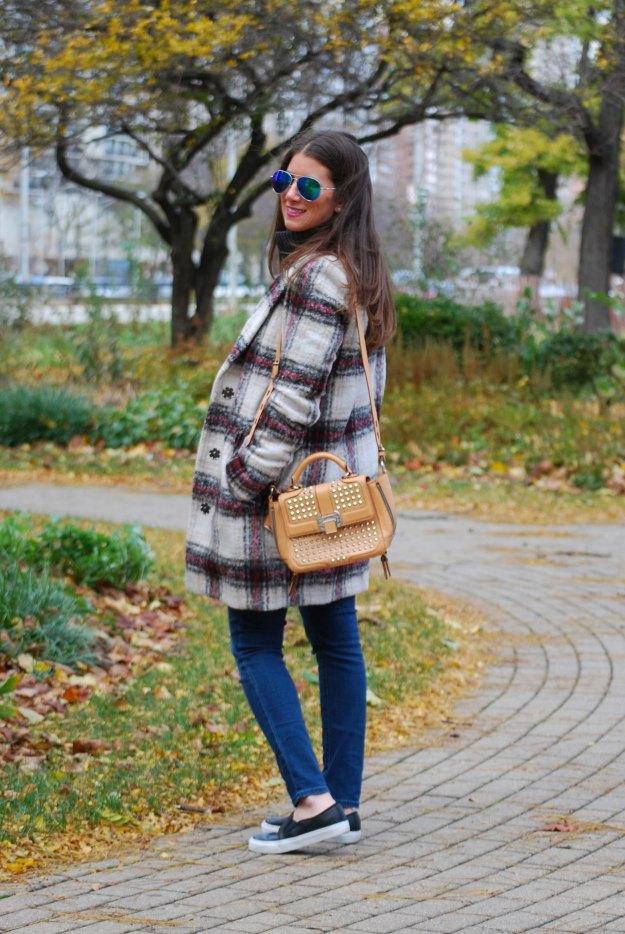 plaid coat 13