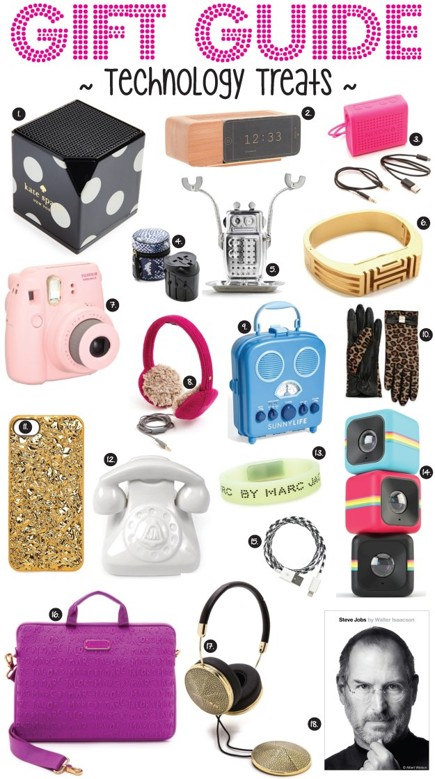 gift guide technology treats