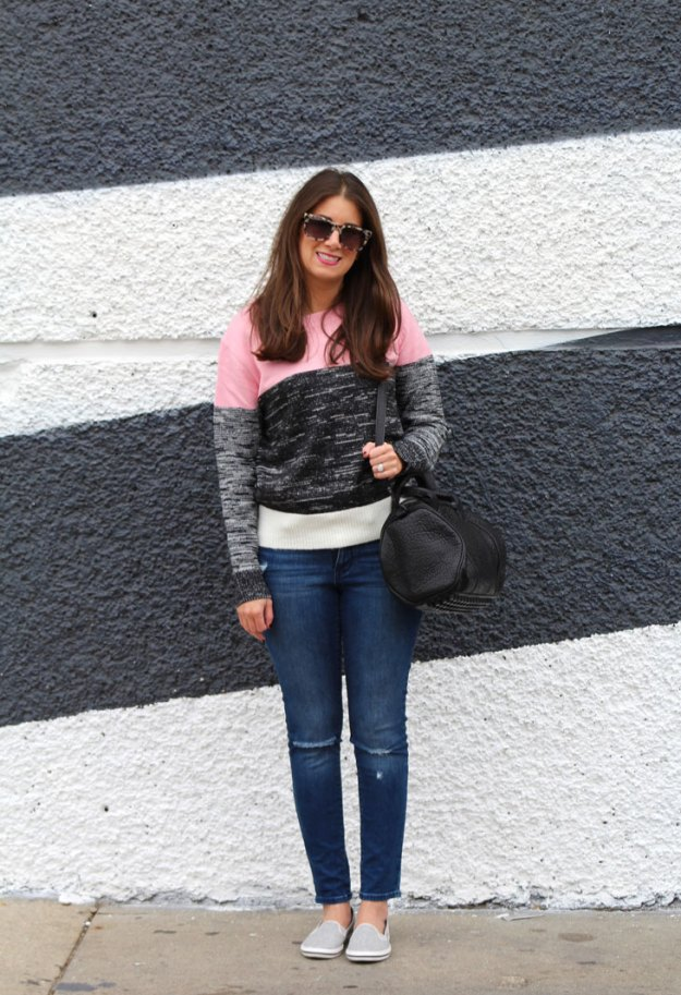cozy sweater and keds 18