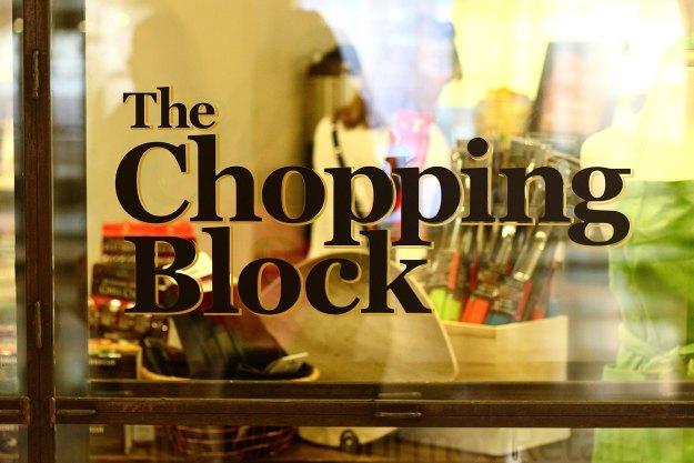 the chopping block 14
