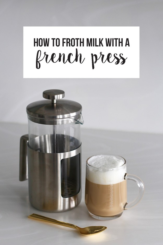 how-to-froth-milk-with-a-french-press