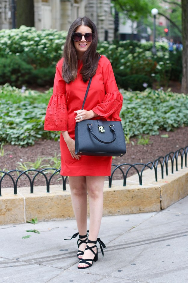 Lauren Ralph Lauren Red Dress