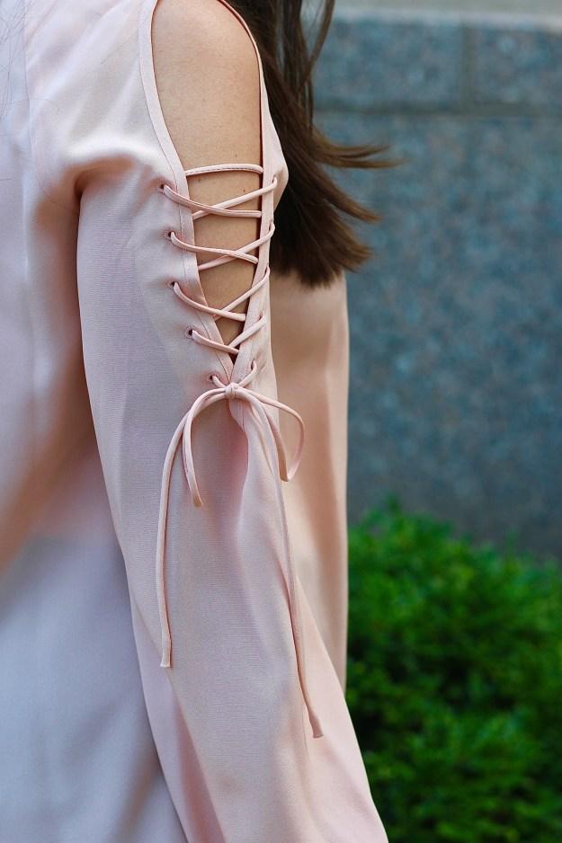 amanda uprichard lace up top