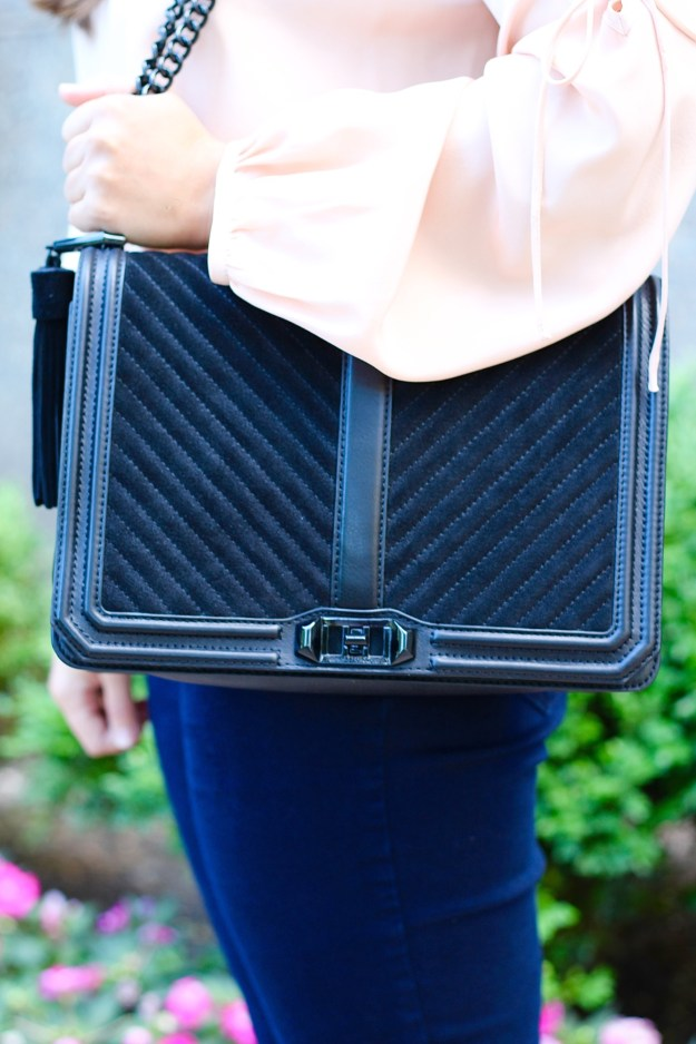rebecca minkoff black handbag