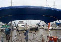 Bimini Top Houseboat