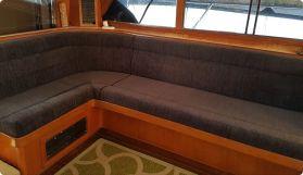 Internal lounge upholstery
