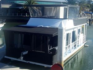 Clears on houseboat