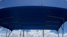 Bimini Top Large Blue