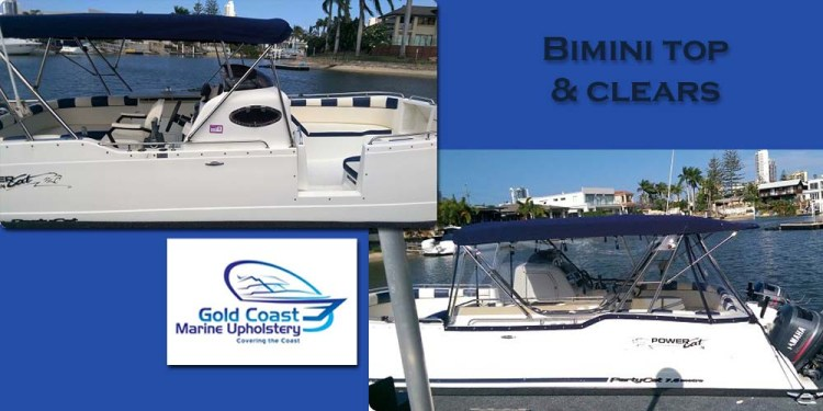 bimini top clears gold coast marine upholstery