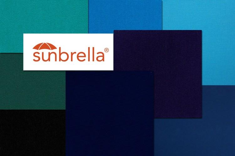 sunbrella fabric range for bimini top gold coast