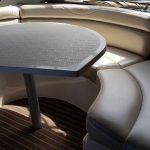 Pearl vinyl boat seating