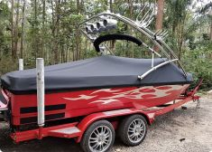 All over boat cover