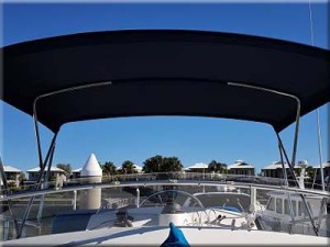custom boat bimini cover