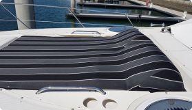 Black white grey sunbrella sunbed