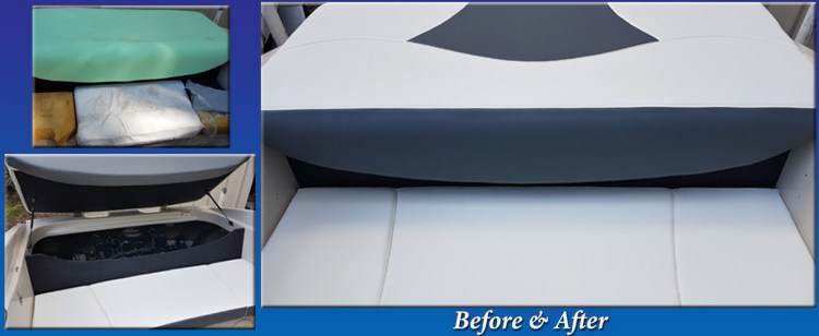 Before and After Engine Cover