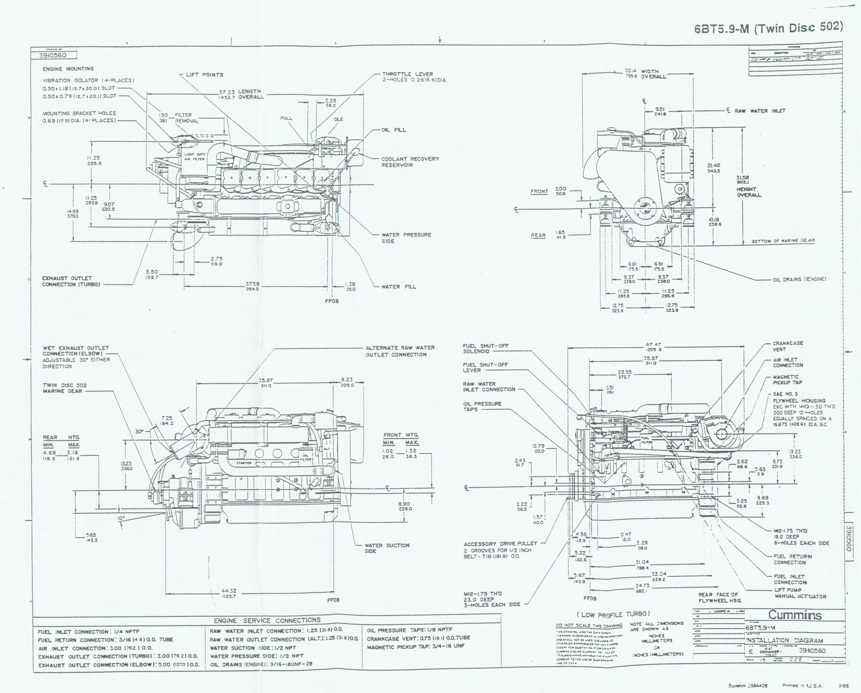 Cummins Ism Cm875 Control Module Wiring Diagram Auto Repair Manual