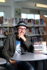 Brian Falkner International writing coach presenting at Gold Coast Writers' June 2020 Online Monthly Meeting