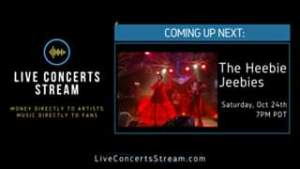 Watch October 24th, 2020 - Heebie Jeebies (7pm PDT)