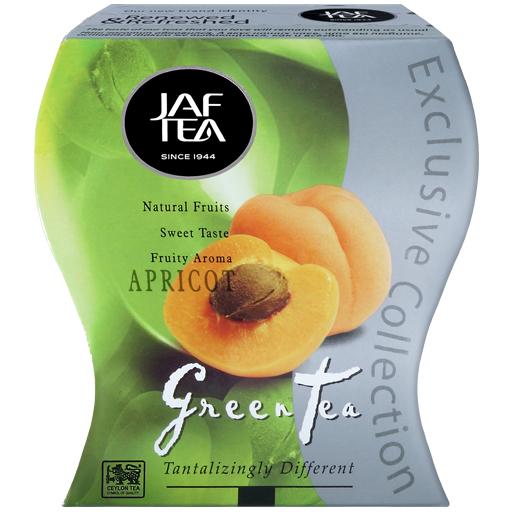 """JAFTEA (Джаф Ти)  зеленый чай """"Абрикос"""" (Apricot) 100g"""