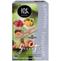 """JAFTEA (Джаф Ти)  зеленый чай """"Чувственный фруктовый меланж"""" (SENSATIONAL FRUIT MELANGE) 25 пакетиков по 2гр"""