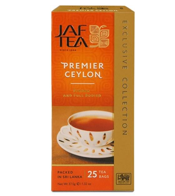 """JAFTEA (Джаф Ти)  черный чай """"Премьер Цейлон"""" (Premier Ceylon) 25 пакетиков по 1,5гр"""