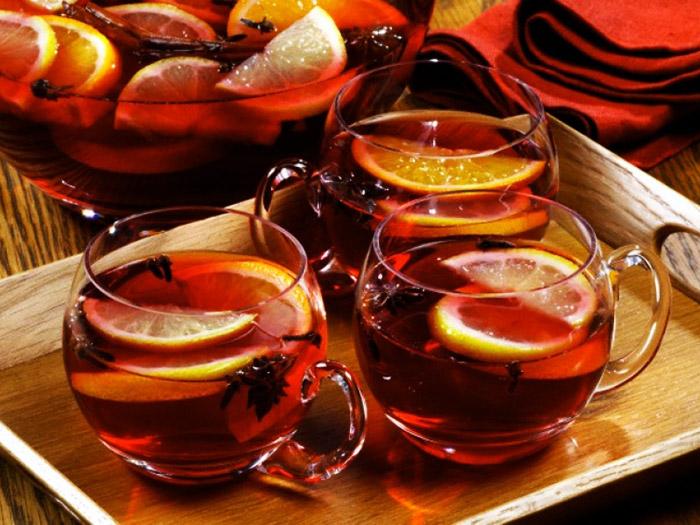 Рецепты с использованием чая. Английский пунш