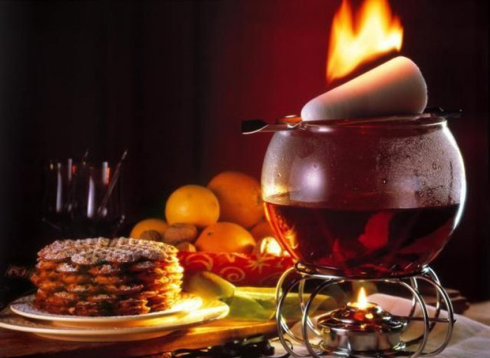 Рецепты с использованием чая. Французский вечерний пунш
