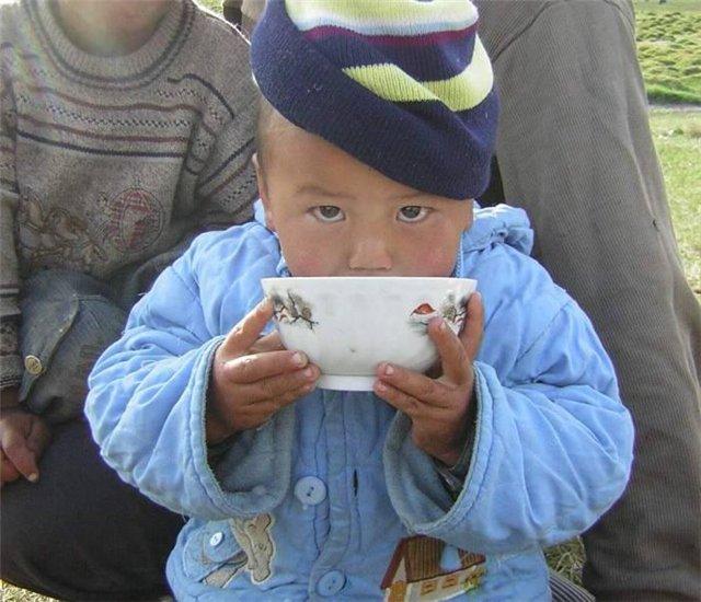 Чайные традиции степных народностей и жителей Севера.