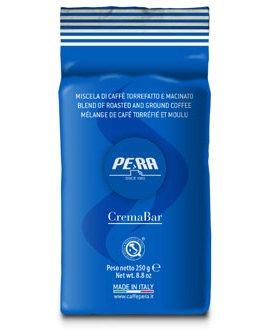 Pera кофе молотый Crema Bar , пакет 250г