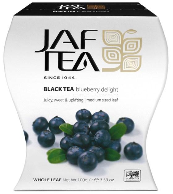 """JAFTEA (Джаф Ти)  черный чай """"Черничный восторг"""" (Bluberry Delight) 100g"""