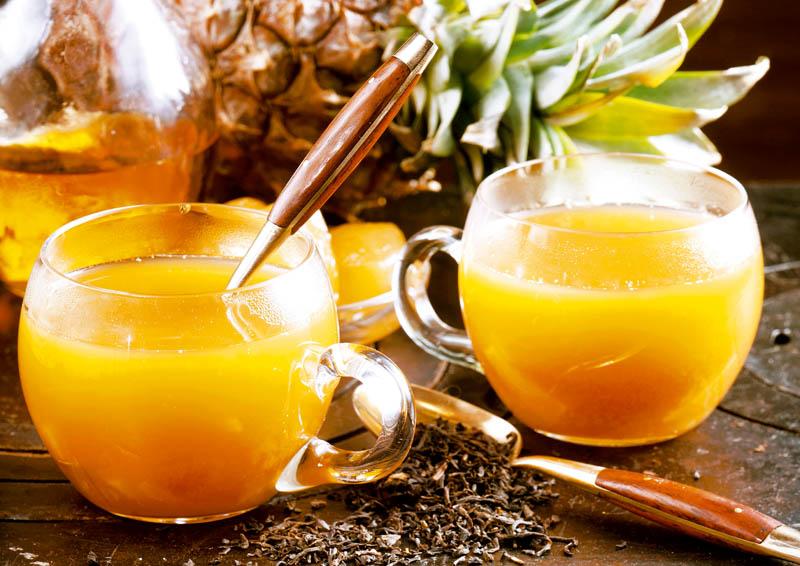 Рецепты с использованием чая. Гавайский пунш.