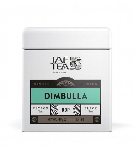 "JAFTEA (Джаф Ти)  черный чай ""ДИМБУЛЛА"" (Dimbulla) BOP жестяная банка 125g"