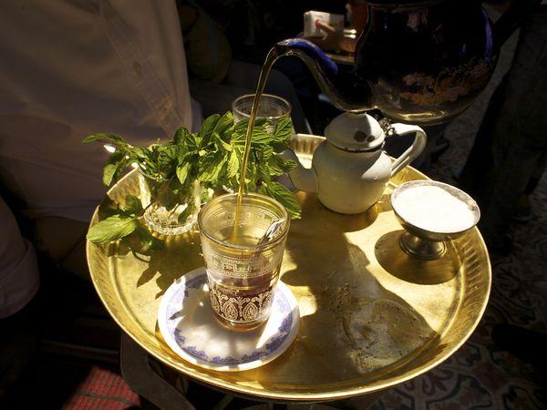 Рецепты с использованием чая. Египетский анисовый чай «Чай Бил Янсун»