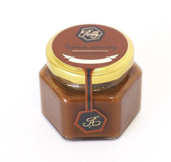 """Evie Honey Крем-мёд """"Черный шоколад"""" 100гр."""