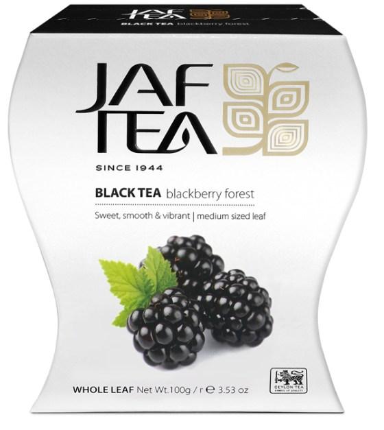 "JAFTEA (Джаф Ти) черный чай ""Лес ежевики"" (Blackberry Forest) 100g"
