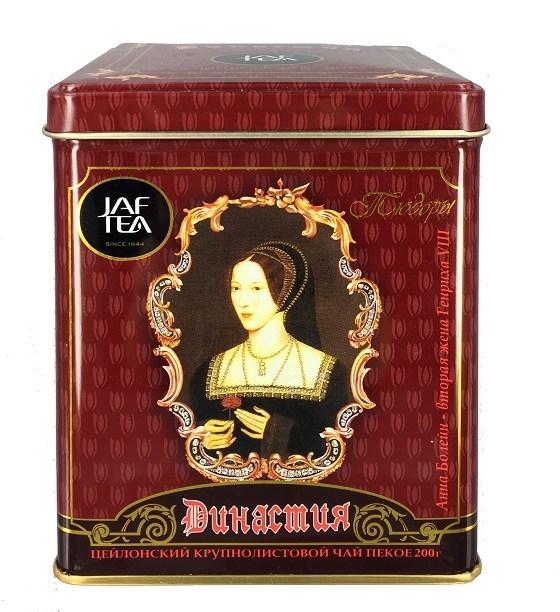 "JAFTEA (Джаф Ти) черный чай ""Династия"" (Dynasty) жестяная банка 400g JAFTEA (ДЖАФ ТИ) ЧЕРНЫЙ ЧАЙ ""ДИНАСТИЯ"" (DYNASTY) ЖЕСТЯНАЯ БАНКА 200G"