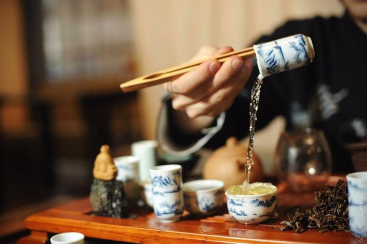Разные способы пить чай